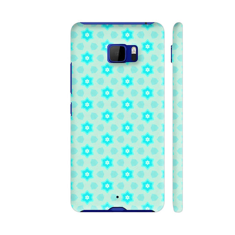 Blue Floral Pattern 3 HTC U Ultra Cover | Artist: Malls