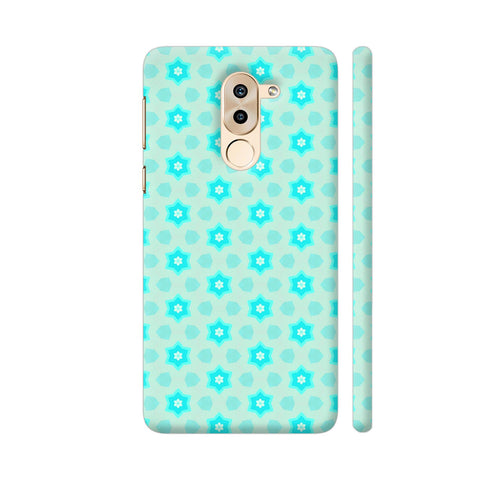 Blue Floral Pattern 3 Honor 6X Cover | Artist: Malls