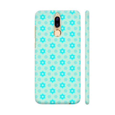Blue Floral Pattern 3 Honor 9i Cover | Artist: Malls