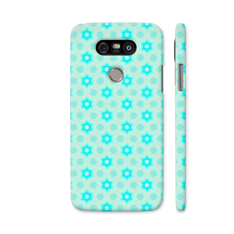 Blue Floral Pattern 3 LG G5 Cover | Artist: Malls