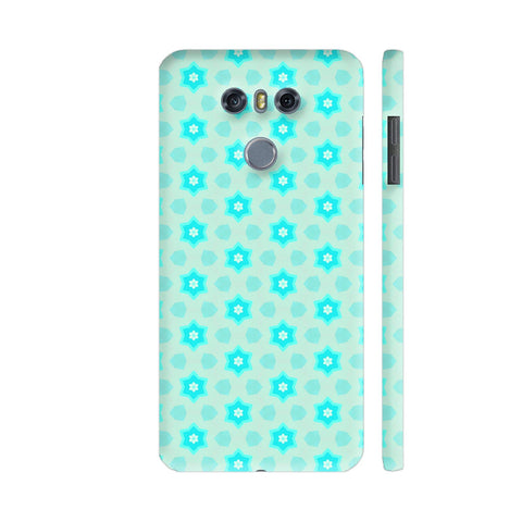 Blue Floral Pattern 3 LG G6 Cover | Artist: Malls