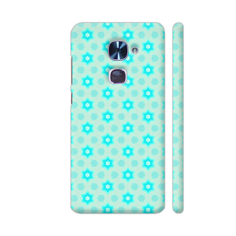 Blue Floral Pattern 3 LeEco Le 2 Cover | Artist: Malls