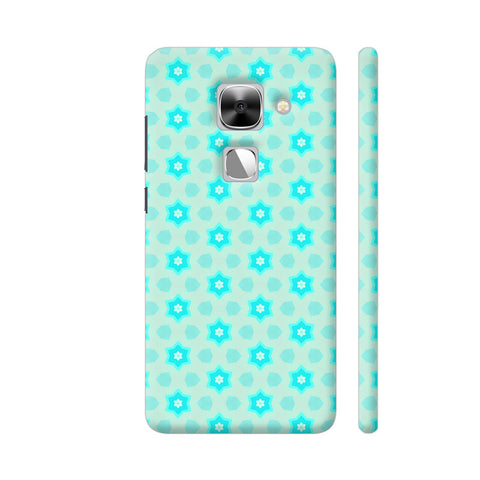 Blue Floral Pattern 3 LeEco Le Max 2 Cover | Artist: Malls