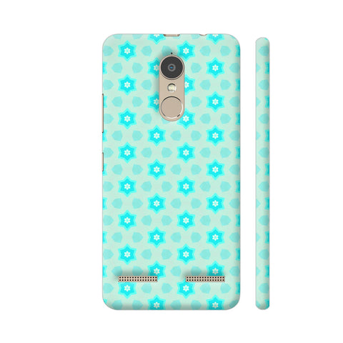 Blue Floral Pattern 3 Lenovo K6 Power Cover | Artist: Malls