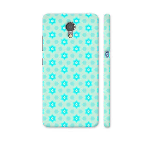 Blue Floral Pattern 3 Lenovo P2 Cover | Artist: Malls