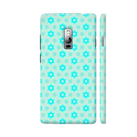 Blue Floral Pattern 3 OnePlus 2 Cover | Artist: Malls