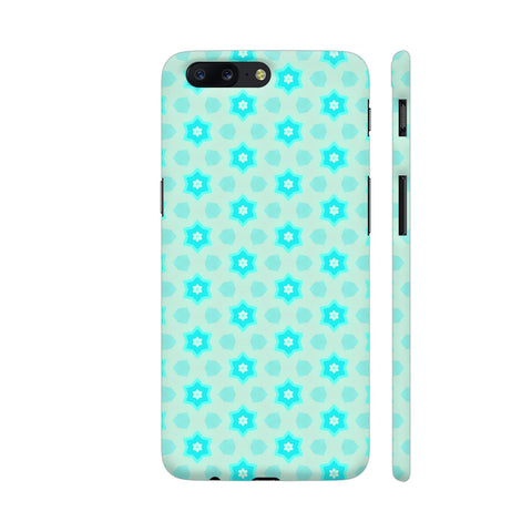 Blue Floral Pattern 3 OnePlus 5 Cover | Artist: Malls