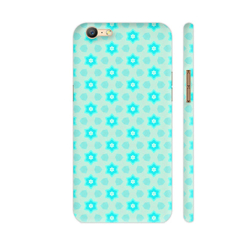 Blue Floral Pattern 3 Oppo A57 Cover | Artist: Malls
