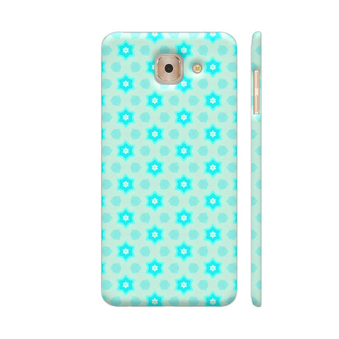 Blue Floral Pattern 3 Samsung J7 Max Cover | Artist: Malls