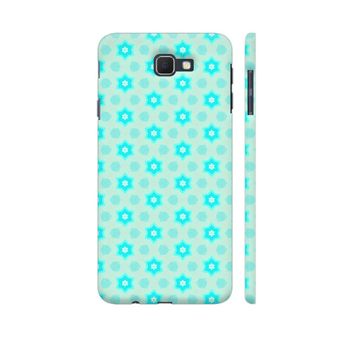 Blue Floral Pattern 3 Samsung On Nxt Cover | Artist: Malls
