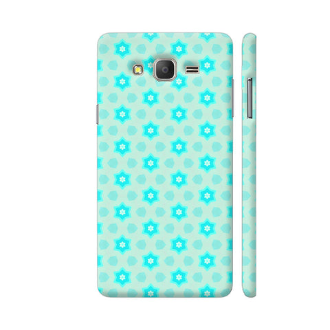 Blue Floral Pattern 3 Samsung On7 Pro Cover | Artist: Malls
