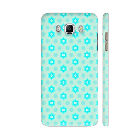 Blue Floral Pattern 3 Samsung On8 Cover | Artist: Malls