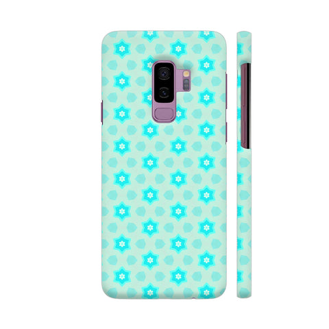 Blue Floral Pattern 3 Samsung S9+ Cover | Artist: Malls