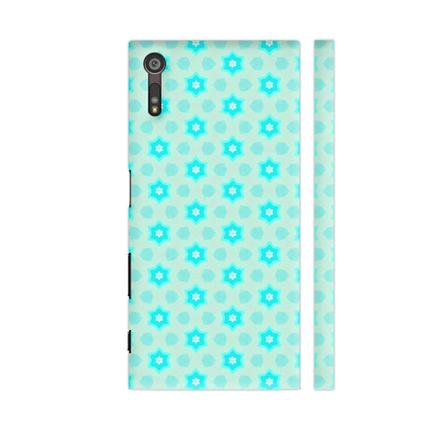Blue Floral Pattern 3 Sony Xperia XZ / XZs Cover | Artist: Malls