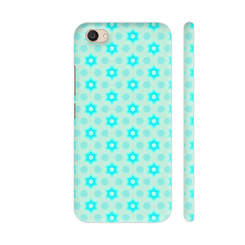 Blue Floral Pattern 3 Vivo V5 Plus Cover | Artist: Malls