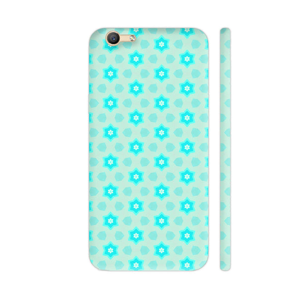 Blue Floral Pattern 3 Vivo Y66 Cover | Artist: Malls