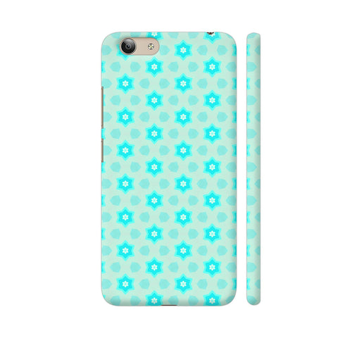 Blue Floral Pattern 3 Vivo Y53 Cover | Artist: Malls