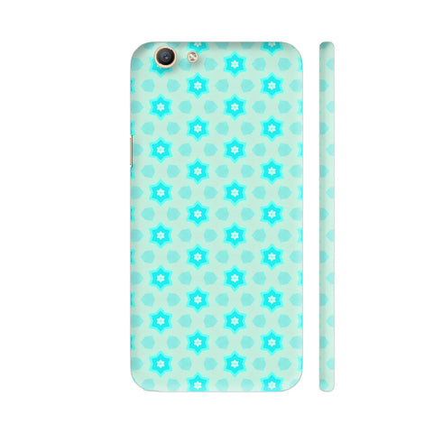 Blue Floral Pattern 3 Vivo Y69 Cover | Artist: Malls