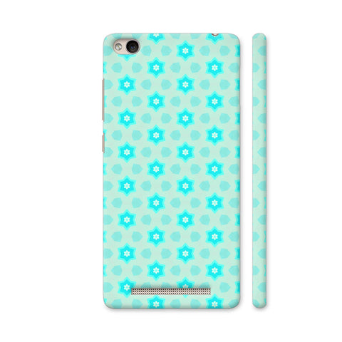 Blue Floral Pattern 3 Redmi 4A Cover | Artist: Malls