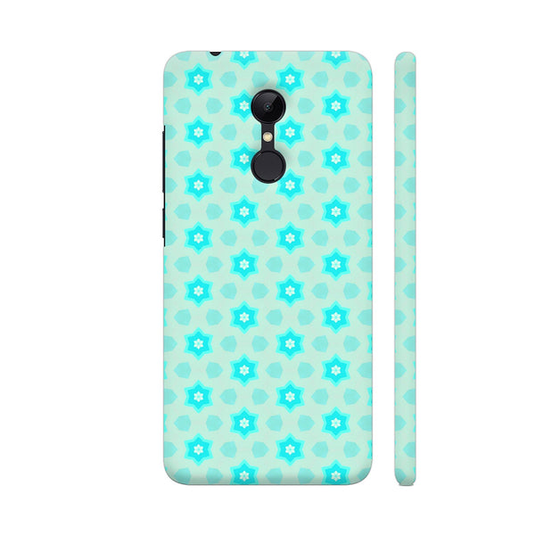 Blue Floral Pattern 3 Redmi 5 Cover | Artist: Malls