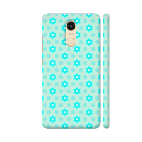 Blue Floral Pattern 3 Redmi Note 4 Cover | Artist: Malls