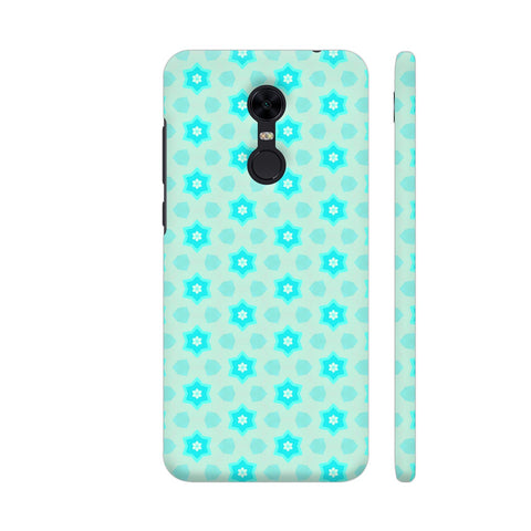 Blue Floral Pattern 3 Redmi Note 5 Cover | Artist: Malls