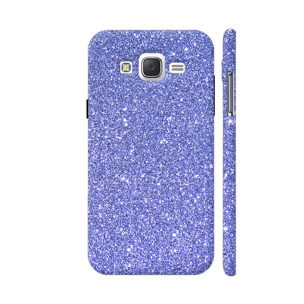 finest selection 1253b 06acb Blue Glitter Sparkley Phone Case Back Cover For Samsung Galaxy J2 Mobile |  Artist: WonderfulDreamPicture