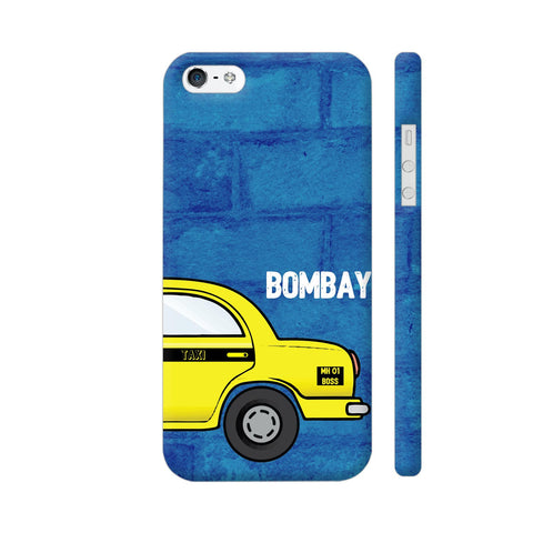 Bombay Taxi iPhone SE Cover | Artist: Nehal