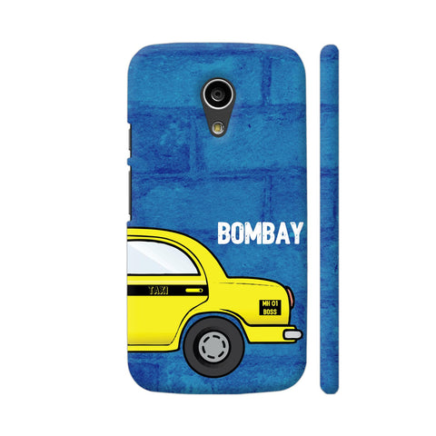 Bombay Taxi Moto G2 Cover | Artist: Nehal