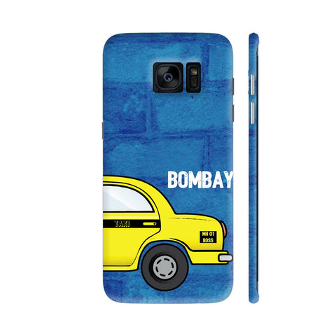 Bombay Taxi Samsung Galaxy S7 Edge Cover | Artist: Nehal