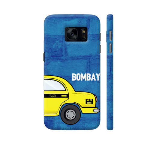 Bombay Taxi Samsung Galaxy S7 Cover | Artist: Nehal