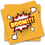 Boom Yellow Coaster (Set of 2)
