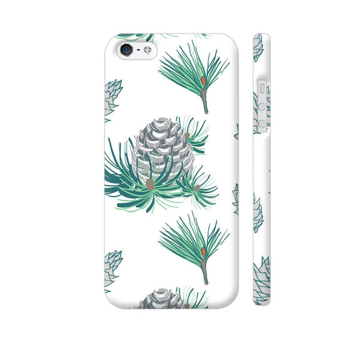 Branches Pattern iPhone SE Cover | Artist: Astha