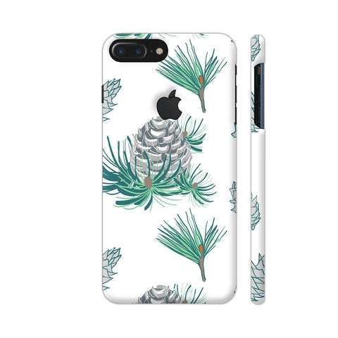 Branches Pattern iPhone 7 Plus Logo Cut Cover | Artist: Astha