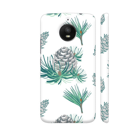Branches Pattern Moto E4 Plus Cover | Artist: Astha