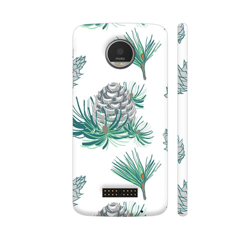 Branches Pattern Moto Z Cover | Artist: Astha