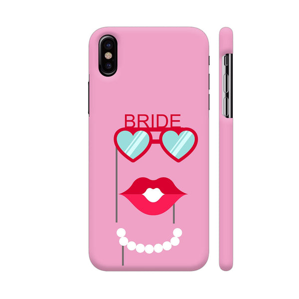 Bride Props Mask iPhone X Cover | Artist: Astha