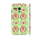 Buddha Meditation On Green Motorola Moto G1 Case
