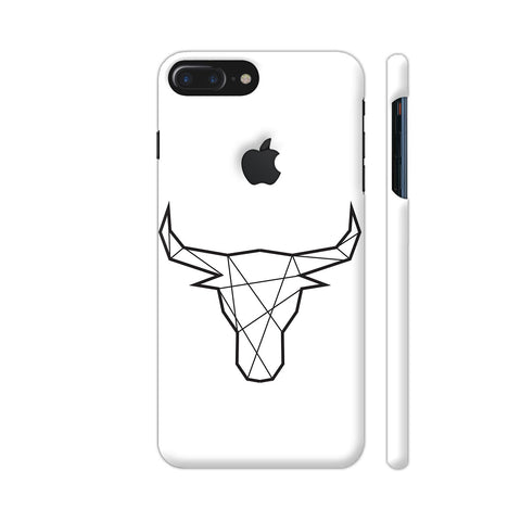 Bull Stroke iPhone 7 Plus Logo Cut Cover | Artist: Adeela Abdul Razak