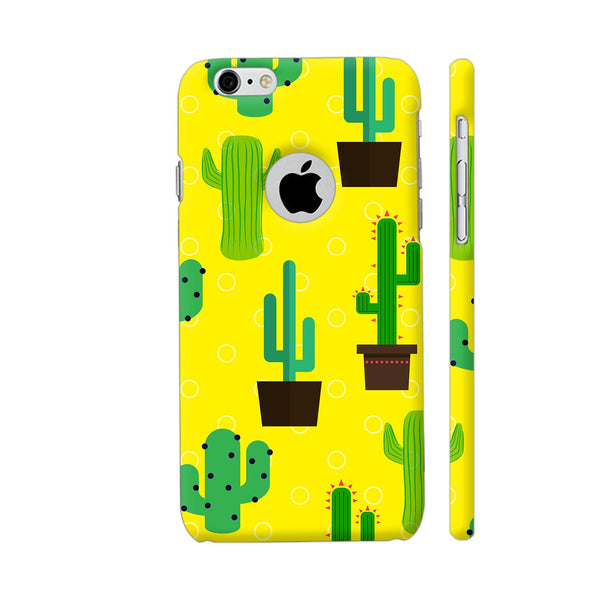 Cactus Pattern iPhone 6 / 6s Logo Cut Cover | Artist: Malls