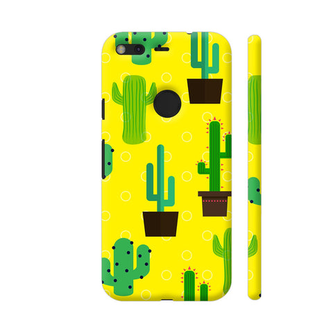 Cactus Pattern Google Pixel Cover | Artist: Malls