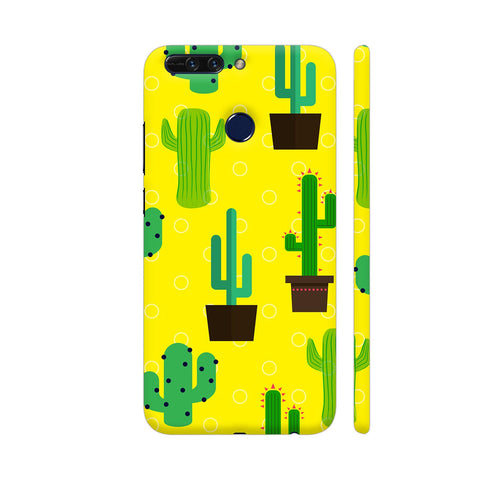 Cactus Pattern Honor 8 Pro Cover | Artist: Malls