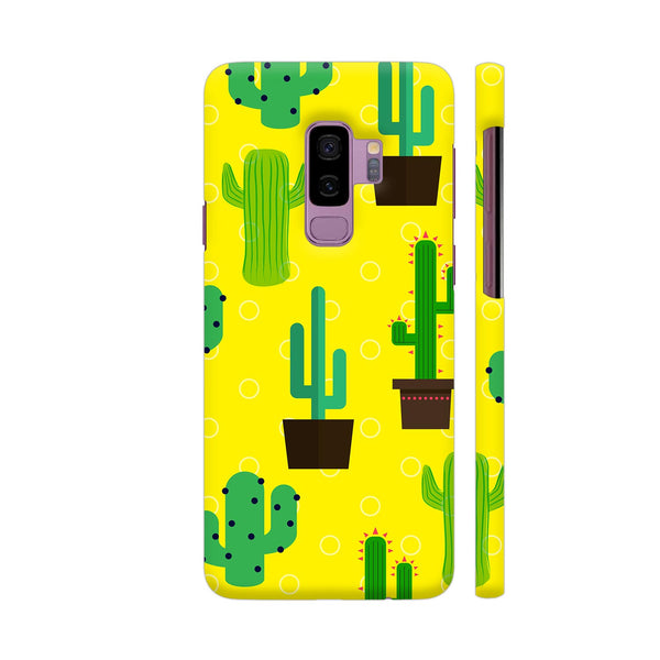 Cactus Pattern Samsung S9+ Cover | Artist: Malls