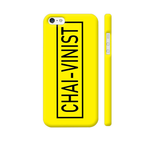Chai Vinist On Yellow iPhone SE Cover | Artist: Malls