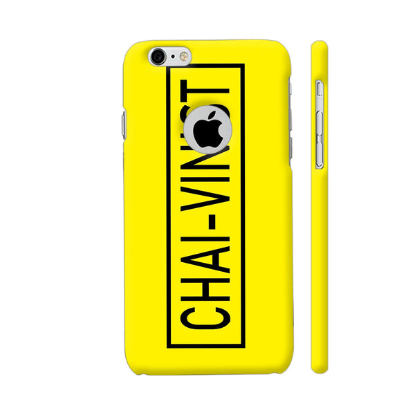 Chai Vinist On Yellow iPhone 6 / 6s Logo Cut Cover | Artist: Malls
