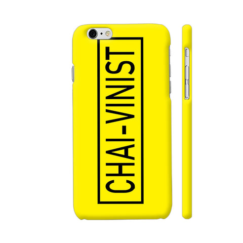 Chai Vinist On Yellow iPhone 6 Plus / 6s Plus Cover | Artist: Malls