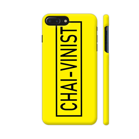 Chai Vinist On Yellow iPhone 8 Plus Cover | Artist: Malls