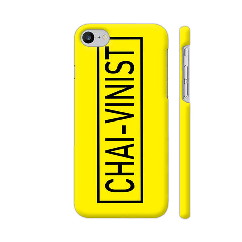 Chai Vinist On Yellow iPhone 8 Cover | Artist: Malls