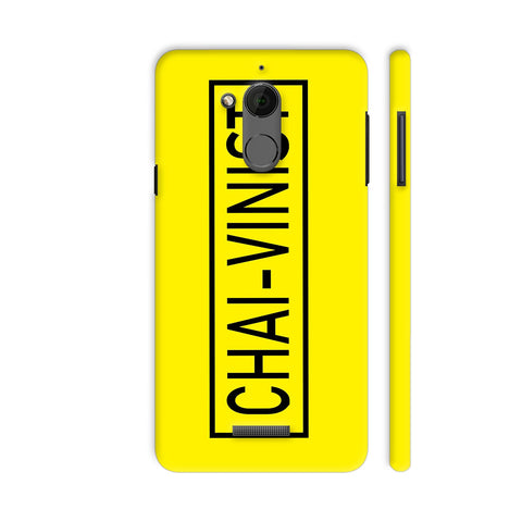 Chai Vinist On Yellow Coolpad Note 5 Cover | Artist: Malls