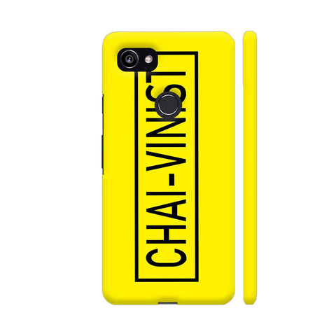 Chai Vinist On Yellow Google Pixel 2 XL Cover | Artist: Malls